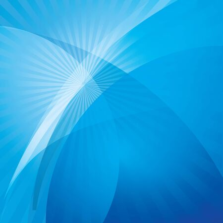 Abstract blue wave background Stock Vector - 17891490