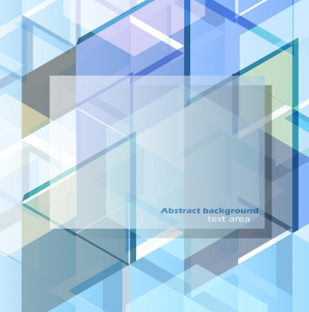 Abstract geometric design template Vector