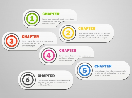 Infographics banners design with icons