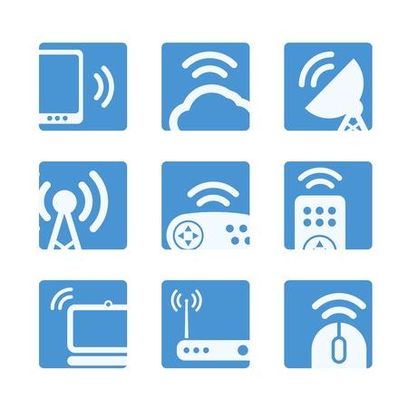 Wireless equipment buttons