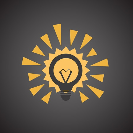 socle: Different light bulb icon collection