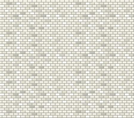 白レンガの壁のシームレスなパターン