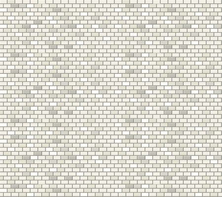 White brick wall seamless pattern
