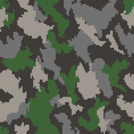 Camouflage seamless background Stock Vector - 22712993