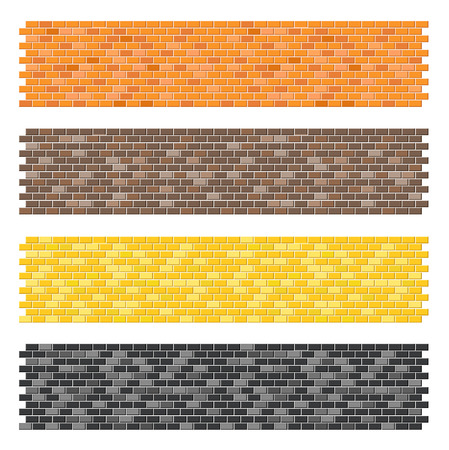 brick: Color brick wall textures collection