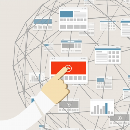 red informatica: El uso moderno entorno de medios digitales