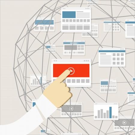 computer network: Using modern digital media environment