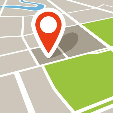 視点で抽象的な市内地図 写真素材 - 26166021