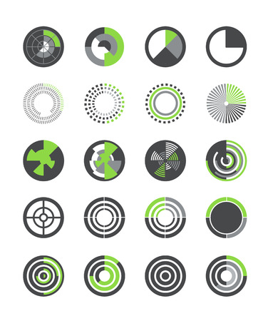 Different indicators vector collection Vector