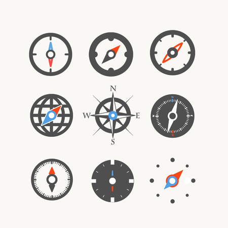 arrow icons: Vector collection Illustration
