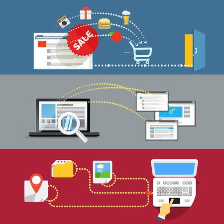 manage: Modern web activities abstract scheme