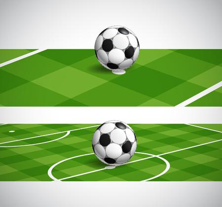 crossbars: soccer ball banners