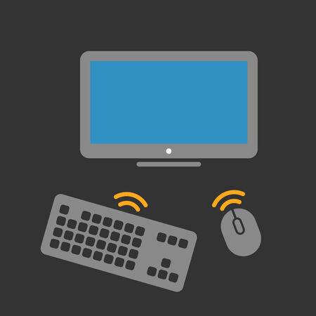 Wireless computer equipment
