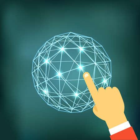 web technology: Utilizzando le moderne tecnologie web. Concetto di design