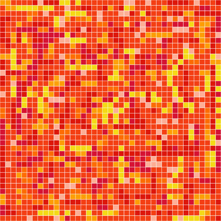 Abstract background of mosaic elements