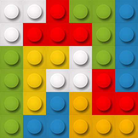 toy blocks: Color constructor blocks seamless background