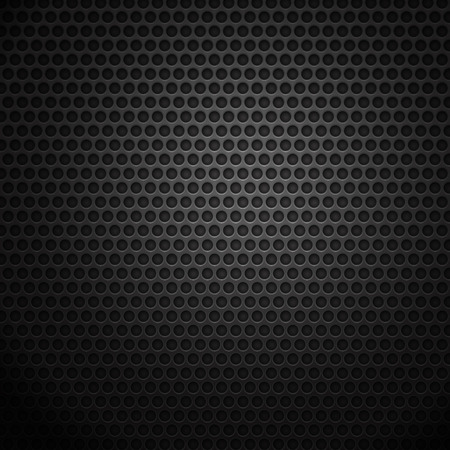 black grunge background: Dark metal cell background