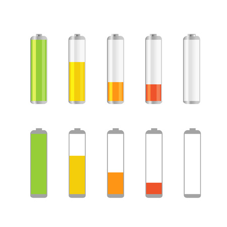 Different accumulator design elements Illustration