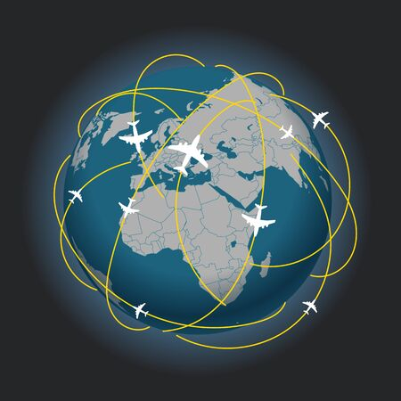ray trace: Global travel abstract scheme