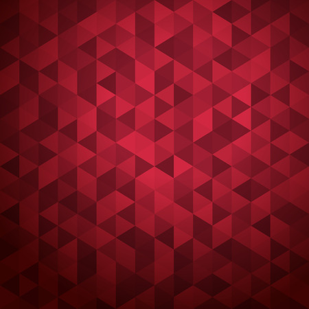 eps vector art: Abstract background of color triangles. Place your content