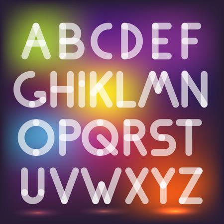 multiply: Multiply geometric elements letters. Design elements