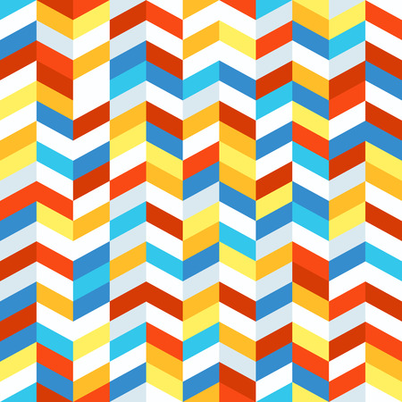 different figures: Seamless pattern of different figures. Abstract seamless colorful background Illustration