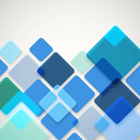 squares background: Abstract vector background of different color squares. Design concept Illustration