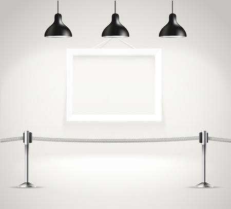 introducing: Galer�a de fotos brillante realista con proyectores. Entrega