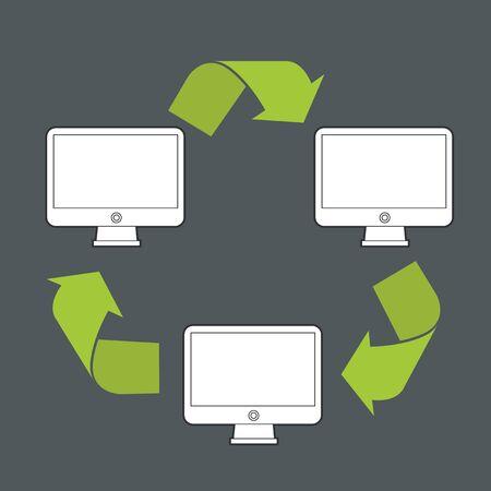 transfer: Abstract modern computer data transfer scheme