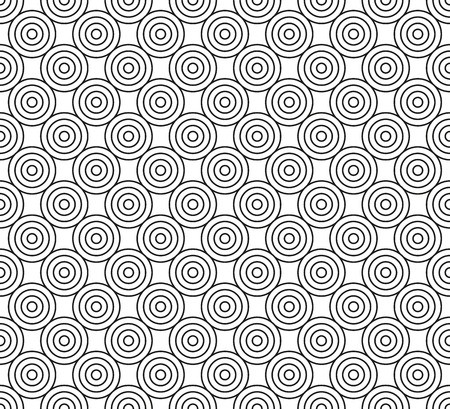 circles: Abstract seamless background of circles
