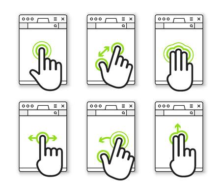 www arm: Basic human gestures using modern digital devices