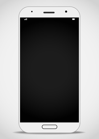 photoreal: Modern smartphone mockup. Vector layout