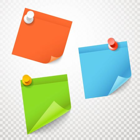 opaque: Blank color stickers set on transparent background