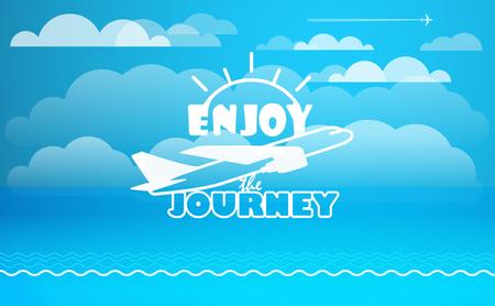 Enjoy the Journey Clip Art