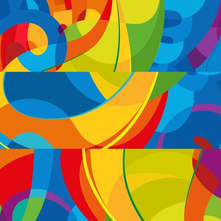Abstract design: Abstract colorful background. Modern design template