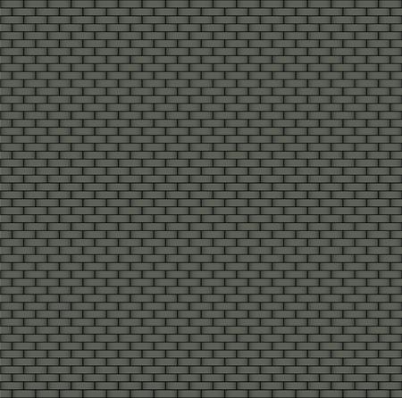 Dark brick wall seamless background