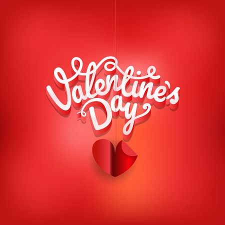 Happy valentines day wishes greeting card layout. Valentines vector label on blured background
