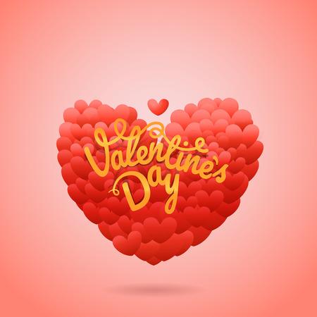 valentines card layout