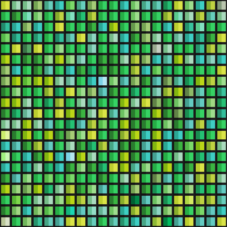 Abstract geometric seamless pattern of color blocks