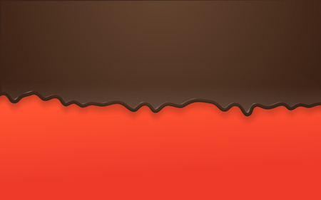 liquid chocolade background. Abstract vector background