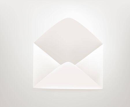 Envelope icon. 3d comic style editable illustration Vektorgrafik