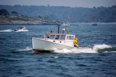 lobster boat: lobster boat