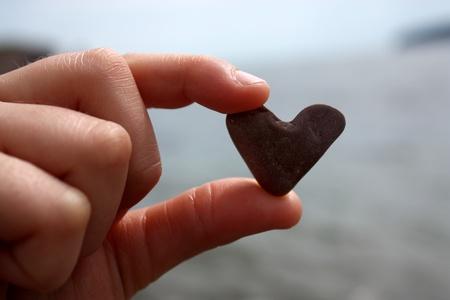 cuore in mano: tenere in mano