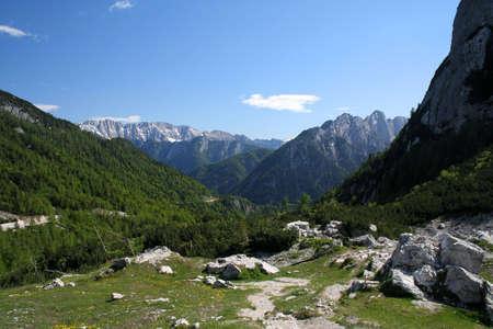 Alpes de Slov�nie Banque d'images