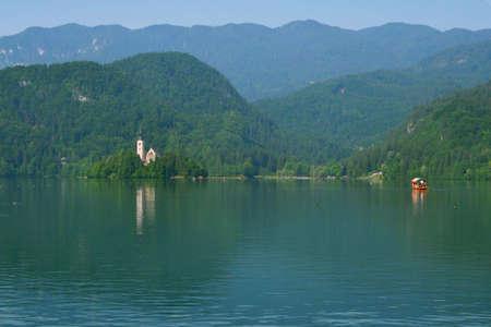 Lac de Bled en Slov�nie