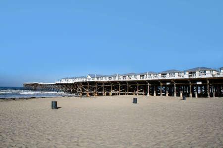 beach and pier Stock Photo - 3022561
