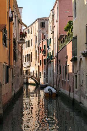 Canal Venise  Banque d'images