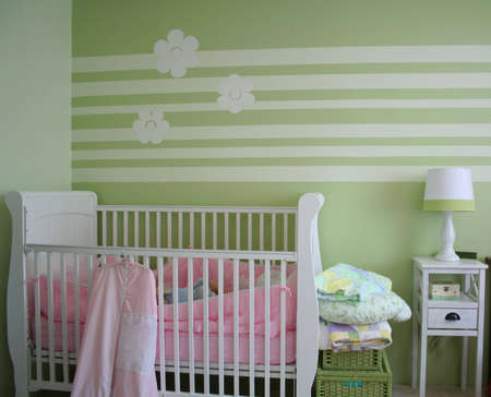 babys nursery Stock Photo