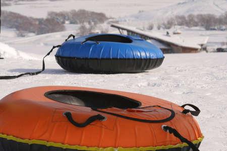 innertube sleds