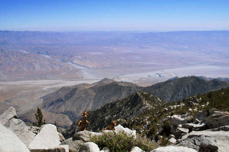 view of palm desert Stock Photo